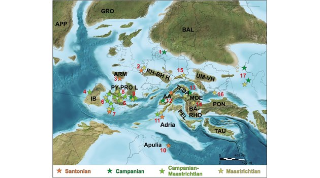 Европа била сбор от острови