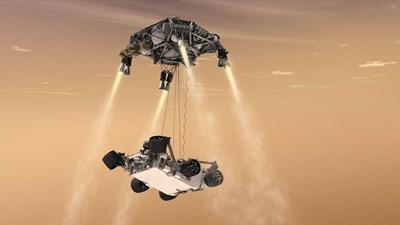 """""""Пърсивиърънс"""" Снимка: НАСА"""