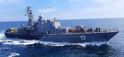 Снимки: ВМС