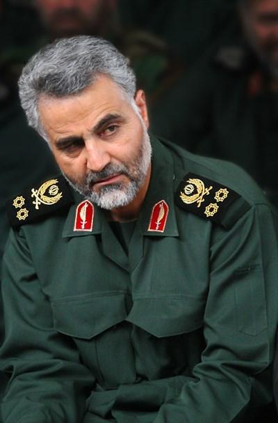 Иранският генерал Касем Солеймани СНИМКА: Уикипедия/sayyed shahab-o- din vajedi
