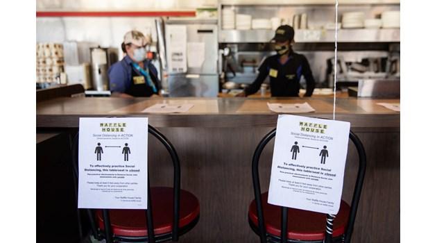 Ресторанти по време на пандемия