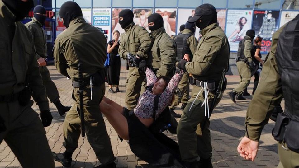 Най-малко 95 задържани при протести в Беларус
