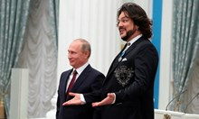"""Бил ли е Филип Киркоров на парти с Путин в """"двореца на Путин"""""""