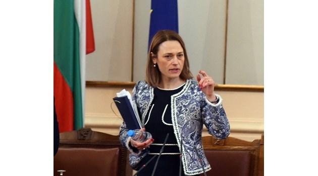 Ива Митева назначена в парламента на мястото на царски депутат