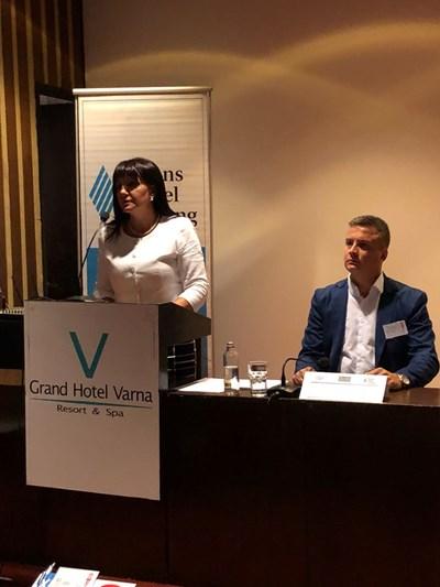 Цвета Караянчева във Варна СНИМКИ: пресцентърът на ГЕРБ