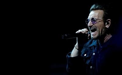 Фронтменът на ирландската група U2 Боно СНИМКИ: РОЙТЕРС