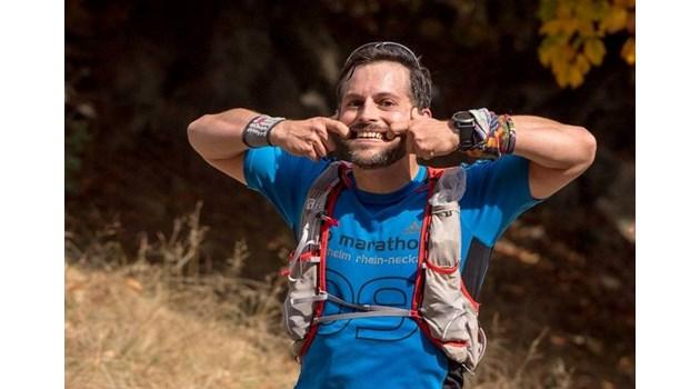 Полуголият IT спец Кирил Радев, който изкачи Черни връх на Нова година, тича заради прахова алергия