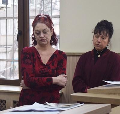 В съда Тонка Драгиева изглеждаше сломена.