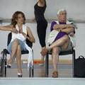 Илияна Раева заедно с хореографа на златните момичета Людмил Коцев.