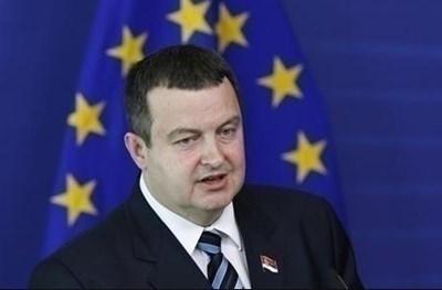 По-рано днес министърът на външните работи на Сърбия Ивица Дачич заяви, че Гана оттегля признаването на Косово. СНИМКА: Ройтерс