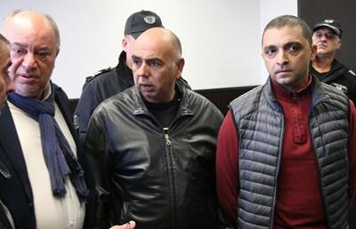 Стоян Мирков и Георги Карадалиев са с по-лека мярка - домашен арест.