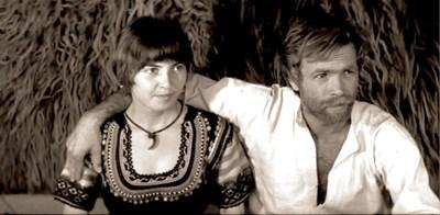 Катя Паскалева и Милен Пенев в ролята на овчаря