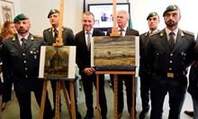 Откраднати картини на Ван Гог в дома на мафиот от Камората