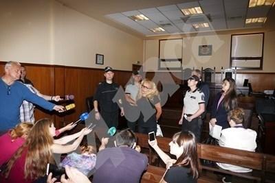 Десислава Иванчева и Биляна Петрова СНИМКА: Румяна Тонева