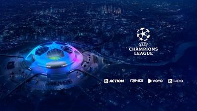 Най-престижните европейски клубни футболни турнири - в каналите на bTV Media Group до 2024