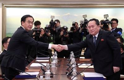 Северна и Южна Корея на 15 януари ще проведат преговори на работно равнище Снимка: Ройтерс