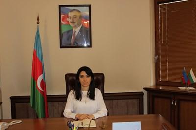 Наргиз Гурбанова е посланик на Азербайджан у нас от 2016 г. Работила е в посолствата на Баку в Австрия и САЩ.