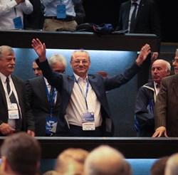 """Ахмед Доган излезе от активния политически живот преди седем години, но остана в ДПС като неин почетен председател.  СНИМКА: """"24 ЧАСА"""""""