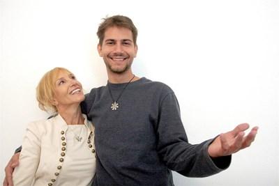 Ирен Кривошиева и Владимир Данаилов  СНИМКА: АНДРЕЙ БЕЛОКОНСКИ