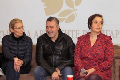 На пресконференцията шефът на Съюза на артистите Христо Мутафчиев съобщи номинираните /снимки: Пламен КОДРОВ