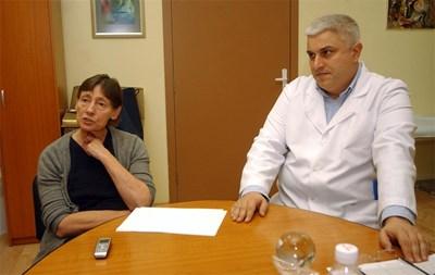 Проф. Люба Калайджиева и проф. Ивайло Търнев критикуват работата на фонда. СНИМКА: Гергана Вутова