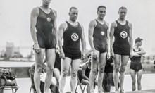 От мъжете олимпийци започва същинската еволюция на банския костюм