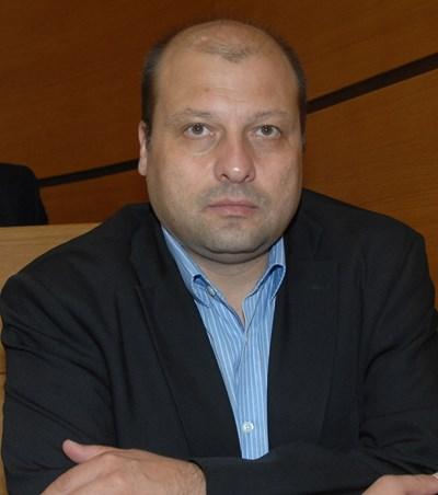 Илиан Иванов, председател на 16-а РИК в Пловдив.