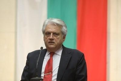 Министърът на вътрешните работи Бойко Рашков