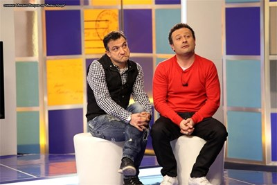 Васил Василев-Зуека и Димитър Рачков   СНИМКА: АРХИВ
