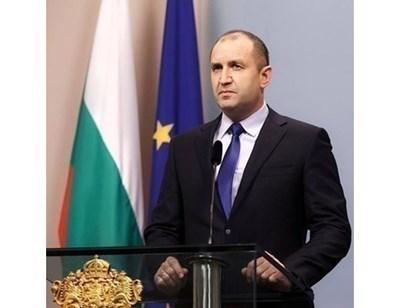 президентът Румен Радев СНИМКА: 24 часа