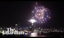 Фойерверки по случай новата година от различни градове по света