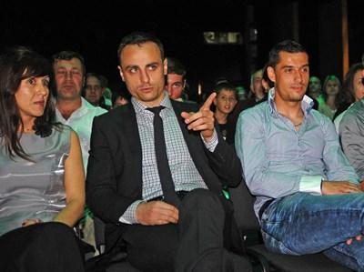 Димитър Бербатов е от хората, които ефективно помагат на талантливите деца в България. СНИМКА: Йордан Симeонов