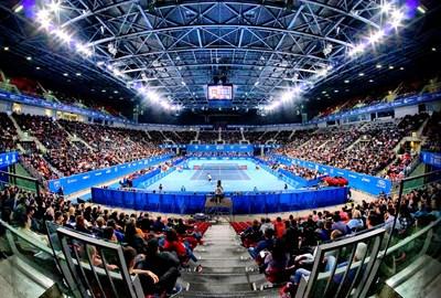 """Пълната """"Арена Армеец"""" впечатли елита на световния тенис.  СНИМКИ: ДЕСИ КУЛЕЛИЕВА"""