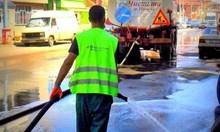 Двойно повече миене и метене на улици в София през 2019 г.