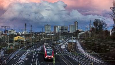 Снимка: S-Bahnhof Essen-West