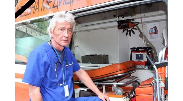 """Героят от """"Бърза помощ"""" д-р Йорданов си отиде обиден от жестокия побой"""