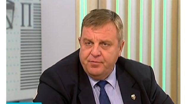 Каракачанов: Резултатът в София е по-нисък от очакванията ни