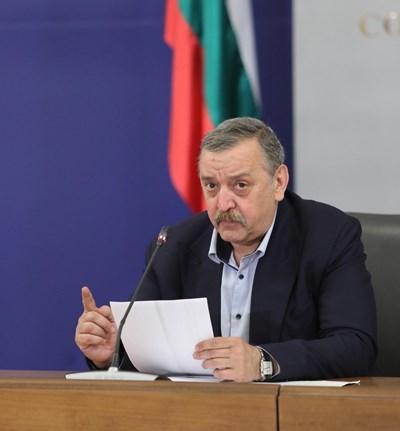 Проф. Тодор Кантарджиев СНИМКА: Правителствена информационна служба