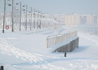 Сибирски студове в Източна Турция Кадър: CNNTurk