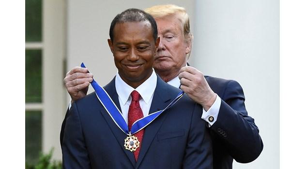 Завръщането на Тигъра: Легендарният голфър се качи на върха на 43-годишна възраст!