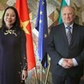 Министърът на външните работи Светлан Стоев и вицепрезидентът на Виетнам Во Тхи Ан Суан   Снимка: МВнР