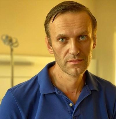 Излежаващият присъда затвор опозиционер Алексей Навални СНИМКА: РОЙТЕРС