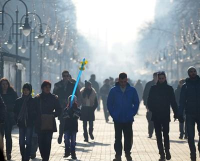 В София има най-голям ръст на населението, като той е два пъти по-голям от втория в класацията град - Варна