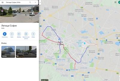 Google Maps Pusna Navigaciya Za Gradski Transport V Blgariya