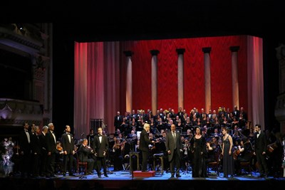 Софийската опера откри сезона с концерт за Гяуров, продължил почти четири часа