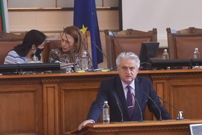 Вътрешният министър Бойко Рашков СНИМКИ: Велислав Николов