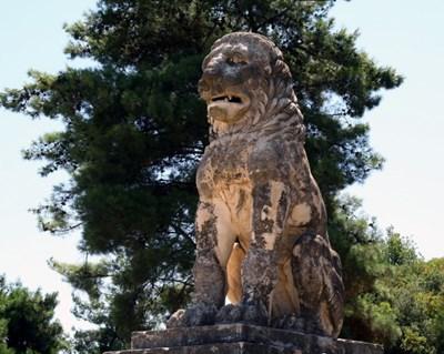 Лъвът от Амфиполис някога е увенчавал внушителната гробница