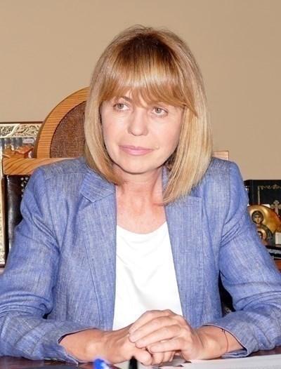 """Йорданка Фандъкова  СНИМКА: """"24 часа""""/Архив"""