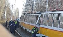 Първият трамвай аварирал, загиналото момче слязло от него и го блъснали (Снимки)