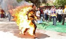 Смъртта в пламъци е най-болезнената гибел. Обременено е със символика и крие зов за помощ